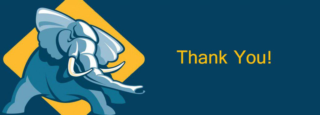 thank-you banner